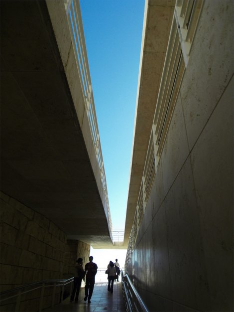 Getty Walkway